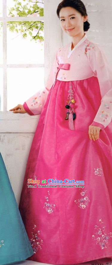 Korean Hanbok Costumes Ladies Fashion Clothes Korean Traditional Dress