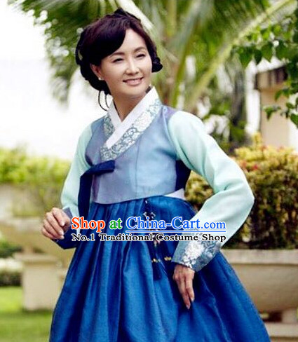 Korean Mother-in-law National Costumes Traditional Hanbok Clothes online Shopping