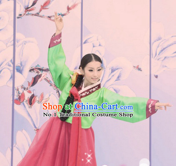 Korean Traditional Dancing Costumes for Girls