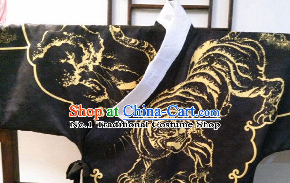 Chinese Traditional Clothing Chinese Ancient Tiger Costume for Men