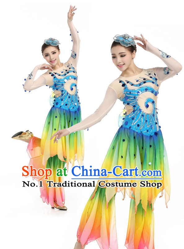 Chinese Traditional Classical Dancing Costumes Discount Dance Dostumes Discount Dance Supply for Women