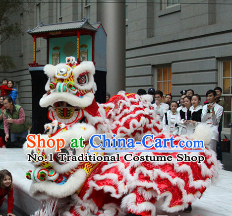 Celebration Parade and Competition Lion Dancing Costumes Complete Set