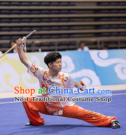 Top Clor Change Martial Arts Uniform Supplies Kung Fu Southern Swords Broadswords Competition Uniforms for Men