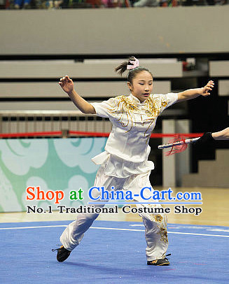 Top Martial Arts Competition Uniform Kung Fu Suit Eagle Fist Mantis Fist Boxing Monkey Fist Gongfu Costumes Complete Set for Women