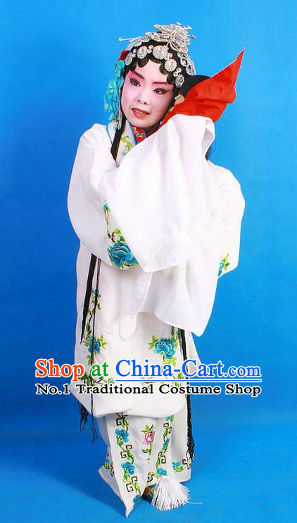 Asian Fashion China Traditional Chinese Dress Ancient Chinese Clothing Chinese Traditional Wear Chinese Opera Hua Tan White Snake Costumes for Kids