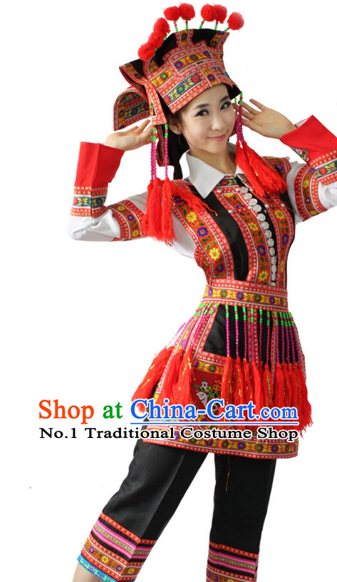Asian Fashion China Dance Apparel Dance Stores Dance Supply Discount Chinese Dai Minority Dance Costumes for Women