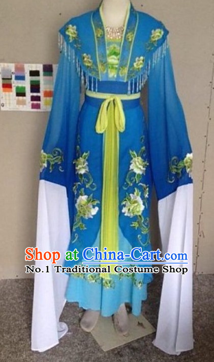 Asian Chinese Traditional Dress Theatrical Costumes Ancient Chinese Clothing Chinese Attire Long Sleeve Dance Costumes