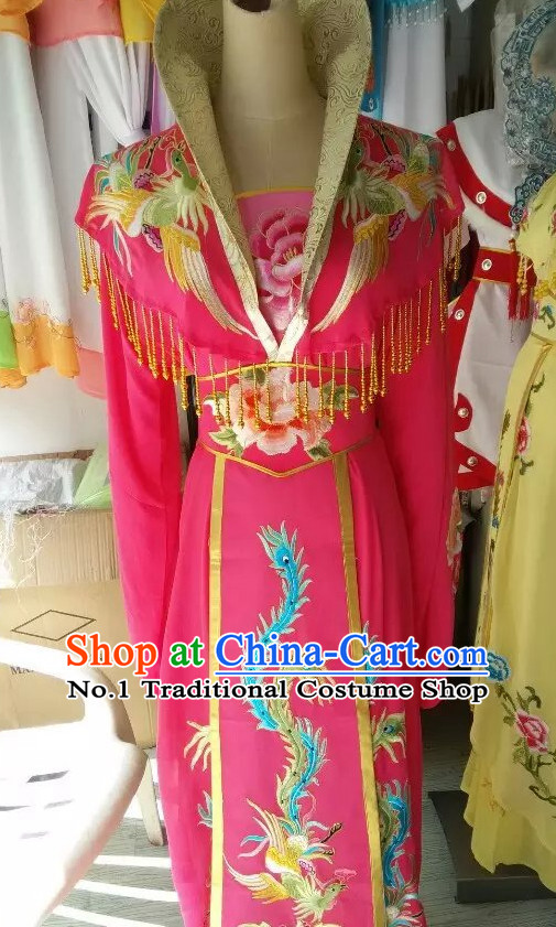 Asian Chinese Traditional Dress Theatrical Costumes Ancient Chinese Clothing Chinese Attire Mandarin Opera High Collar Costumes