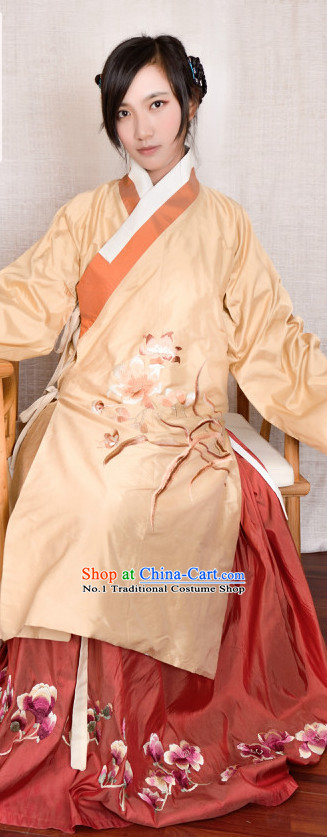 Chinese Traditional Hanfu Plus Size Dresses