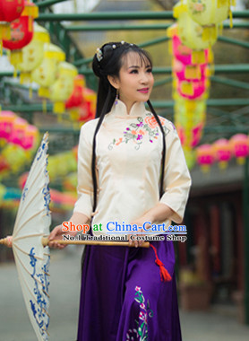 Chinese Minguo Time Female Clothes