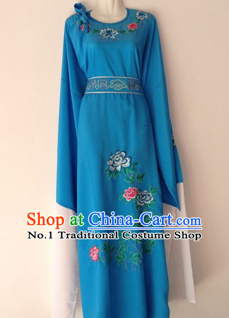 Long Sleeves Chinese Beijing Opera Xiao Sheng Long Garment