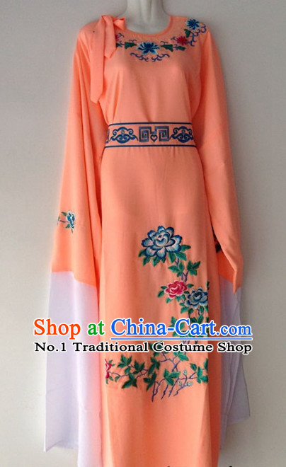 Long Sleeves Chinese Beijing Opera Xiao Sheng Young Men Long Robe