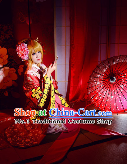 Top Traditional Japanese Halloween Costumes and Accessories Complete Set