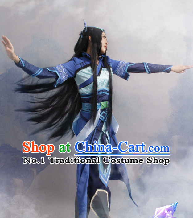 Asia Fashion Wu Xia Swordwomen Chinese Female Cosplay Costumes Halloween Costumes