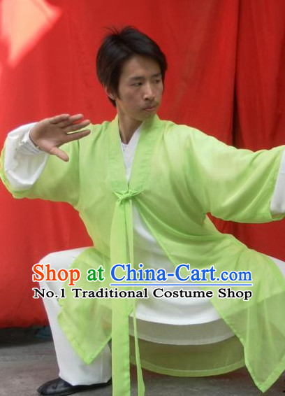 Chinese taoist uniform taoist costumes long robe dao