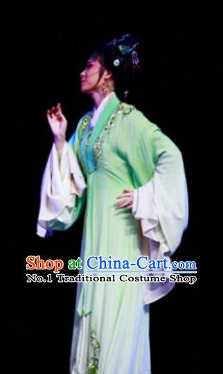Asian Chinese Traditional Dress Theatrical Costumes Ancient Chinese Clothing Wide Sleeve Costumes