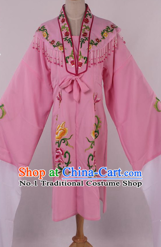 Chinese Traditional Water Sleeves Opera Costumes
