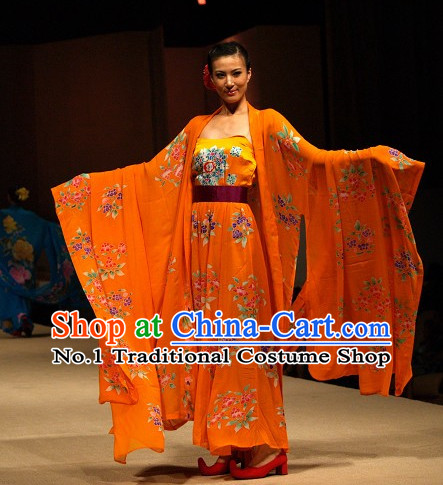 Ancient Chinese Empress Clothing Complete Set for Women