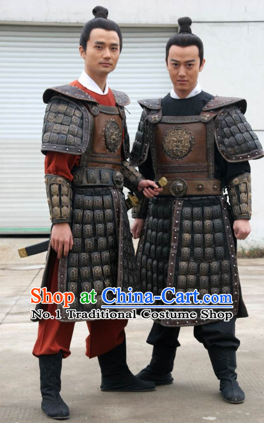 Chinese Hanfu Asian Fashion Japanese Fashion Plus Size Dresses Traditional Clothing Asian General Armor Costumes