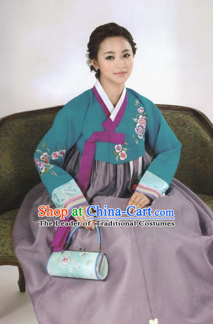 Korean Han Bok Outfit Clothes for Women