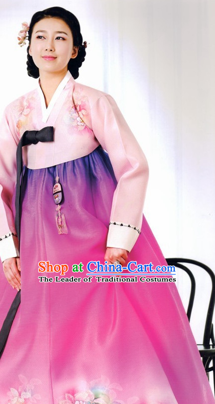 Top Korean Modern Han Bok Clothing for Women