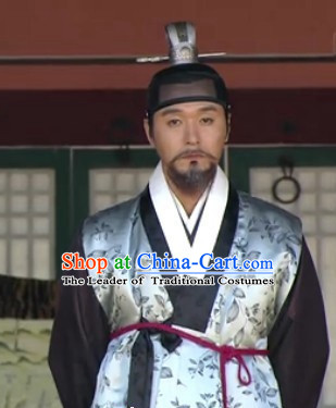 Ancient Korean Palace Government Official Headwear for Men