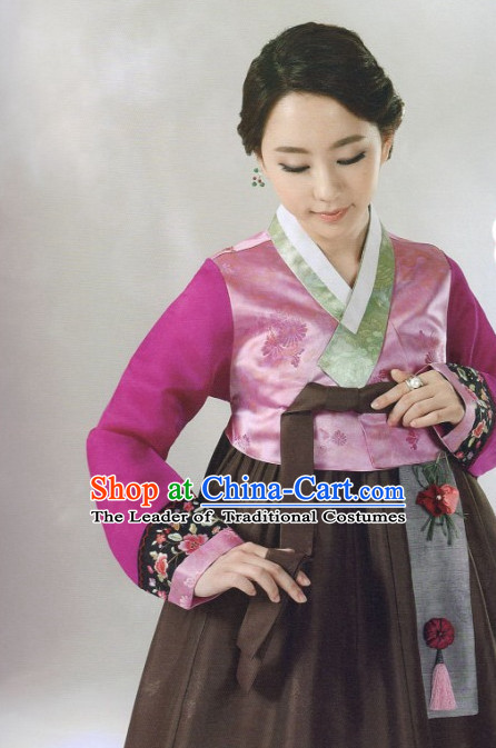 Korean Classic Han Bok Suitand Hair Accessories Complete Set for Women