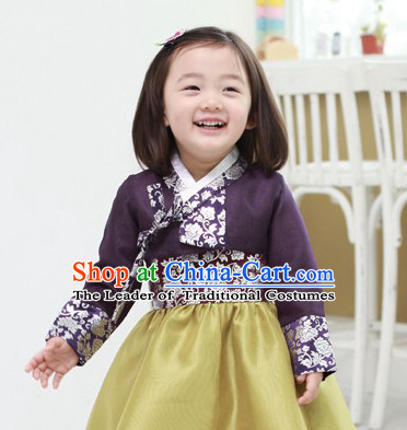 Korean Han Bok Suit for Girls