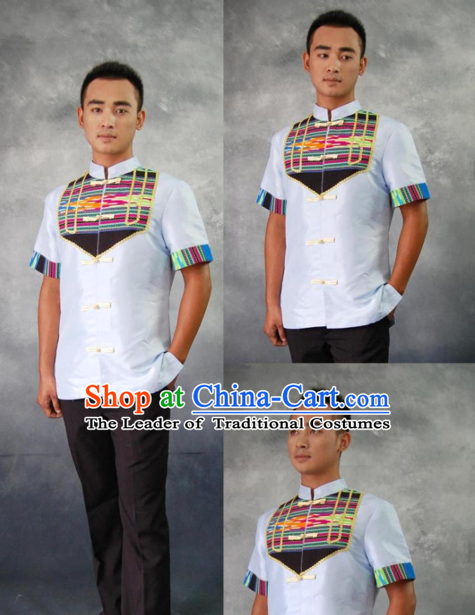 Thailand Traditional National Clothes for Men