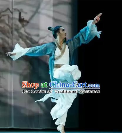 Chinese Hanfu Dance Costume for Gentleman