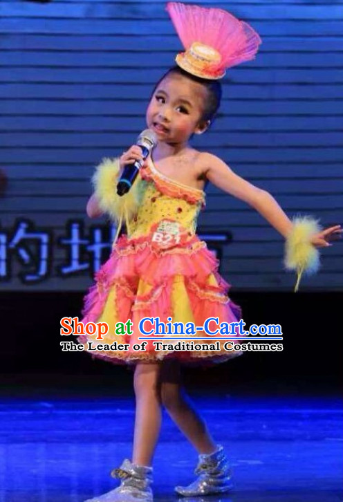 Chinese Performance Costume Dance Kids Costume Dance Costumes