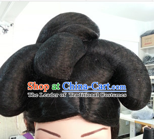 Chinese Traditional Hair extensions Wigs Fascinators Toupee Hair Pieces Full Wigs