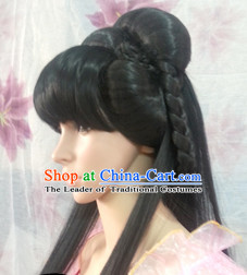 Ancient Chinese Traditional Hair extensions Wigs Fascinators Toupee Hair Pieces for Women
