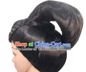 Chinese Classic Wigs Hair Extensions Lace Front Wig Hair Pieces for Ladies
