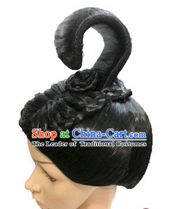 Chinese Classicial Queen Wigs Hair Extensions Lace Front Wig Hair Pieces for Women