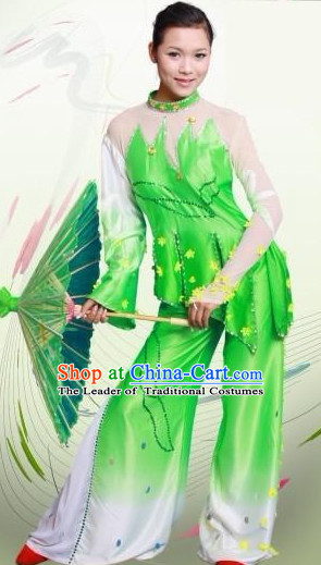 Chinese Umbrella Dance Costumes Dancewear Discount Dane Supply Clubwear Dance Wear China Wholesale Dance Clothes