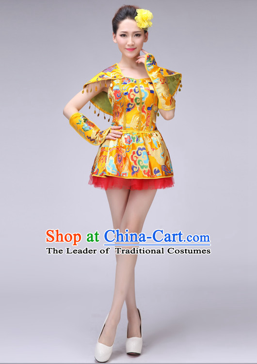 Chinese Drum Dance Costumes Dancewear Discount Dane Supply Clubwear Dance Wear China Wholesale Dance Clothes