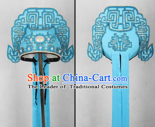 Pure Silk Ancient Chinese Opera Cantonese Opera Xiao Sheng Your Scholar Hat