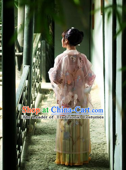 Ancient Chinese Beautiful Hanfu Costumes for Women