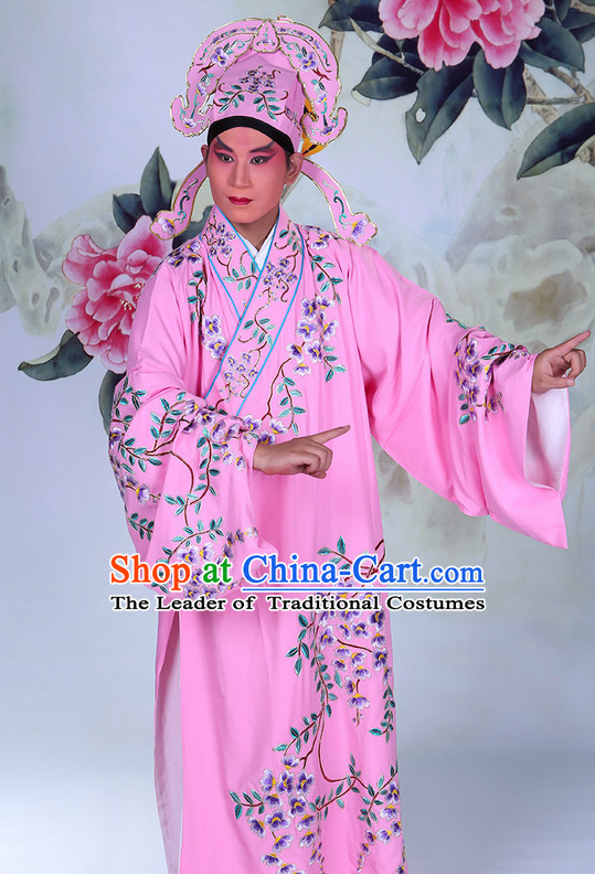 8994585a7 Ancient Chinese Beijing Opera Costumes Peking Opera Husband Young Scholar  Costume and Hat Complete Set for ...