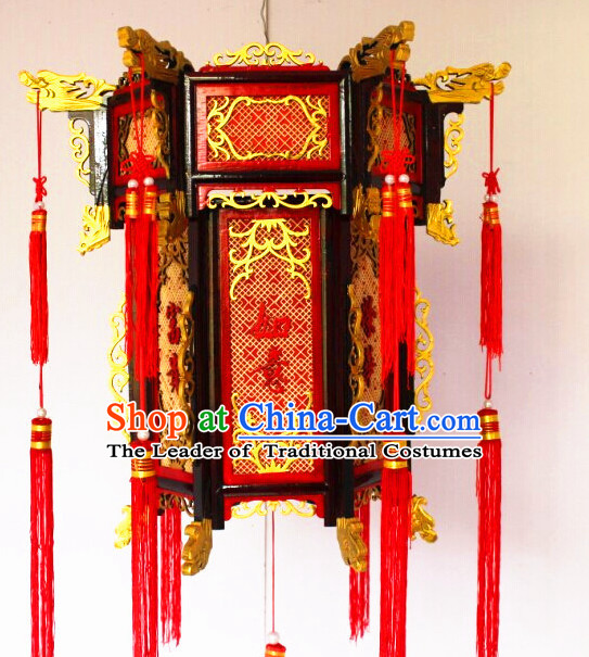 Lucky Red Chinese Classical Handmade Hanging Lantern
