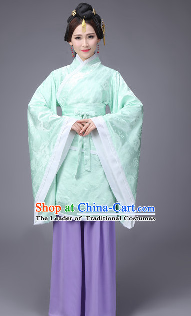 Han Dynasty Quju Clothing Complete Set for Women