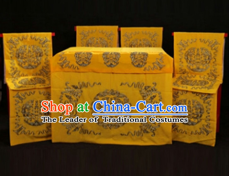 Ancient Chinese Opera Scene Background 10 Pieces Set