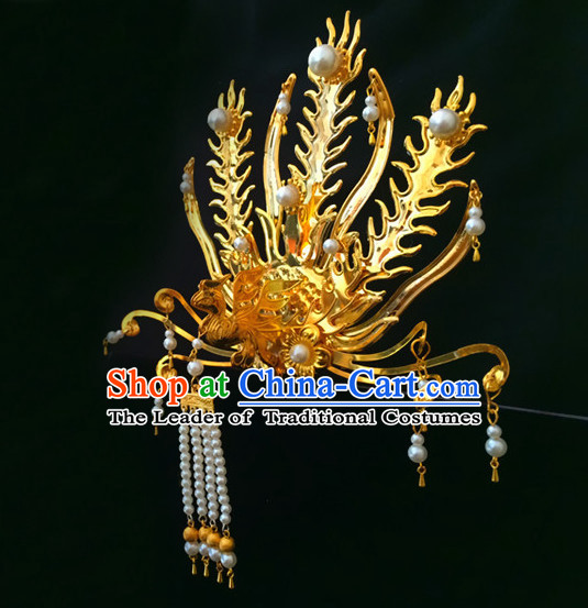 Ancient Chinese Queen Princess Empress Hair Jewelry Headwear Hair Accessories
