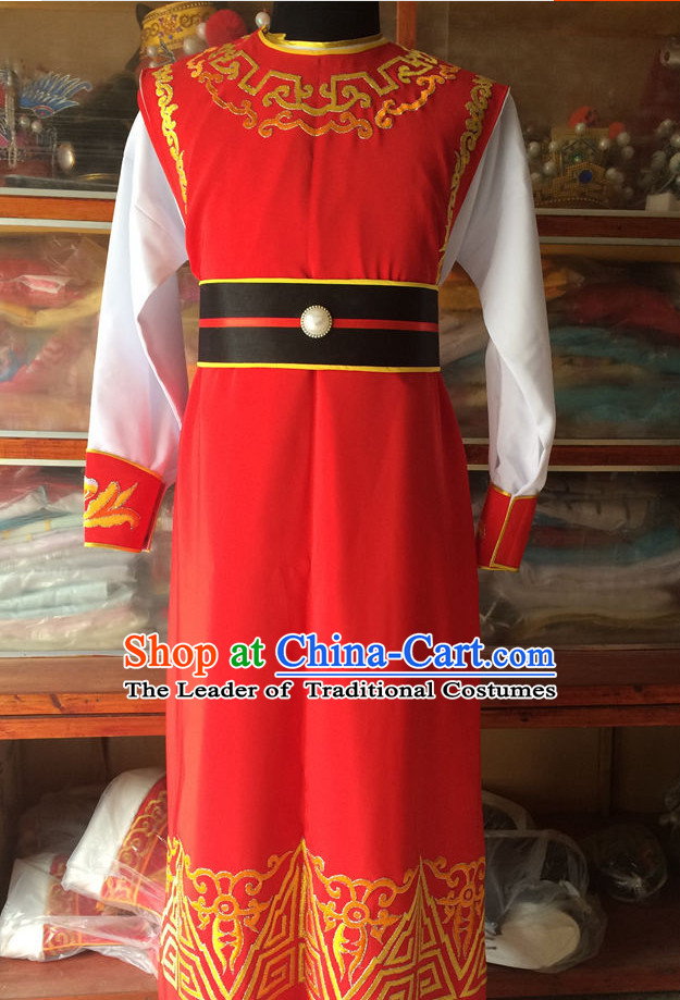 Ancient Chinese Opera Embroidered Jia Baoyu Costumes Complete Set for Men