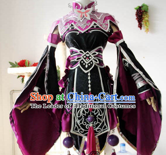 Chinese Ancient Royal Princess Cosplay Costume Complete Set for Adults Kids Women Boys