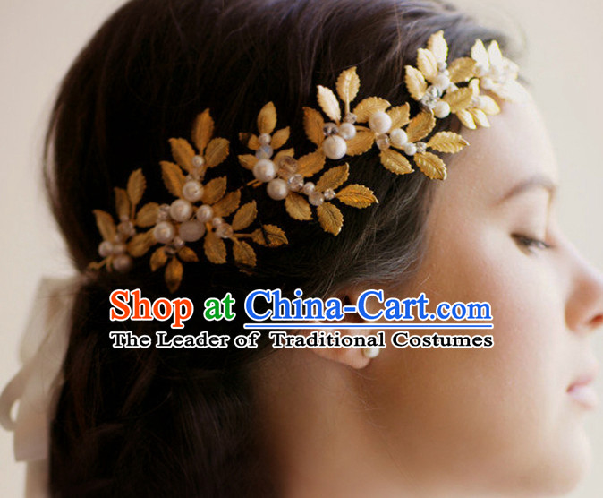 Romantic Bridal Princess Royal Crown Hair Accessories Hair Jewelry