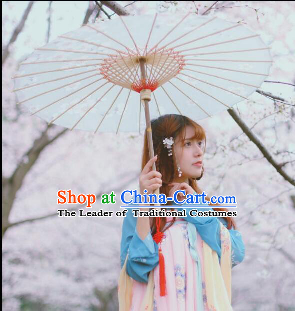Chinese Classic Handmade Oiled Paper Umbrella