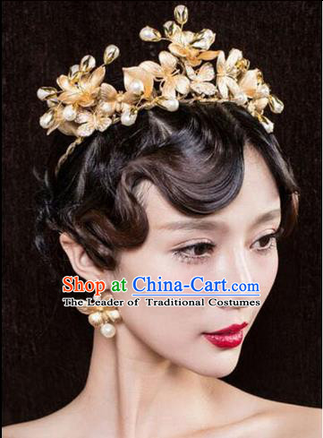 Traditional Jewelry Accessories, Princess Hair Accessories, Bride Wedding Hair Accessories, Baroco Style Headwear for Women