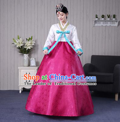 Korean Traditional Costumes Women Korean Ancient Clothes Wedding Full Dress Formal Attire Ceremonial Clothes Court Stage Dancing